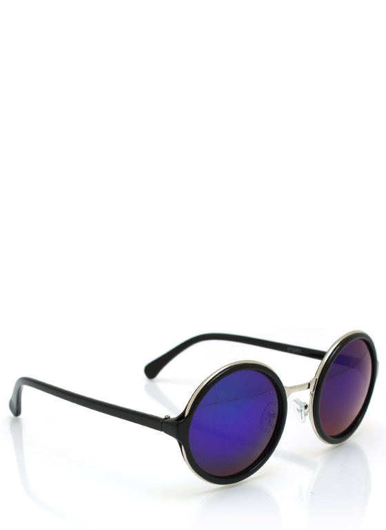Color My World Sunglasses BLACKBLUE