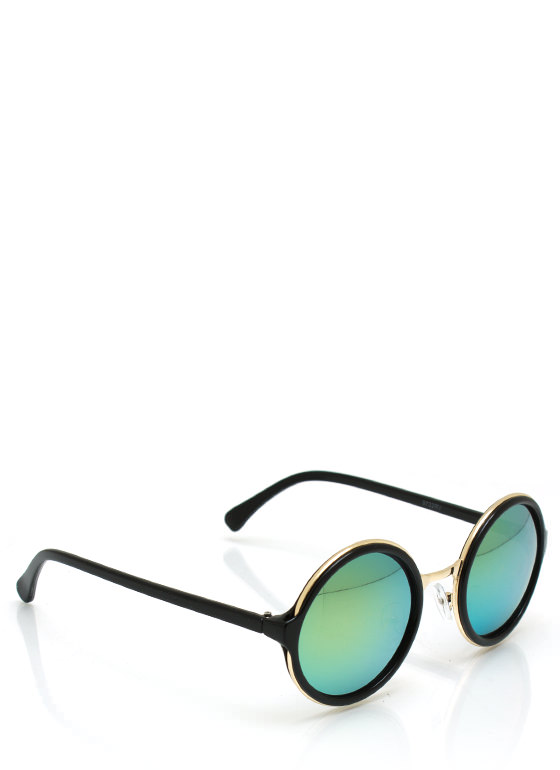 Color My World Sunglasses BLACKYLLW