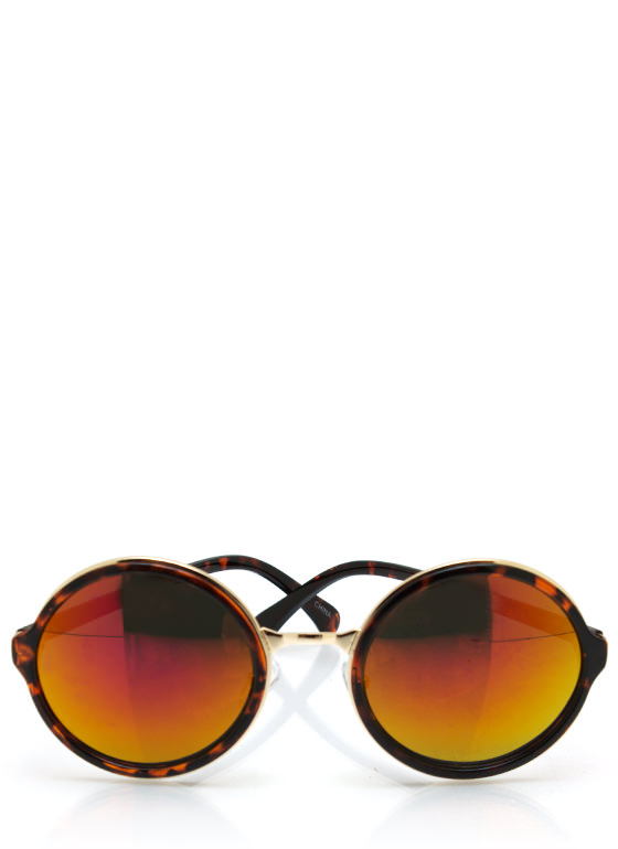 Color My World Sunglasses TORTORANGE