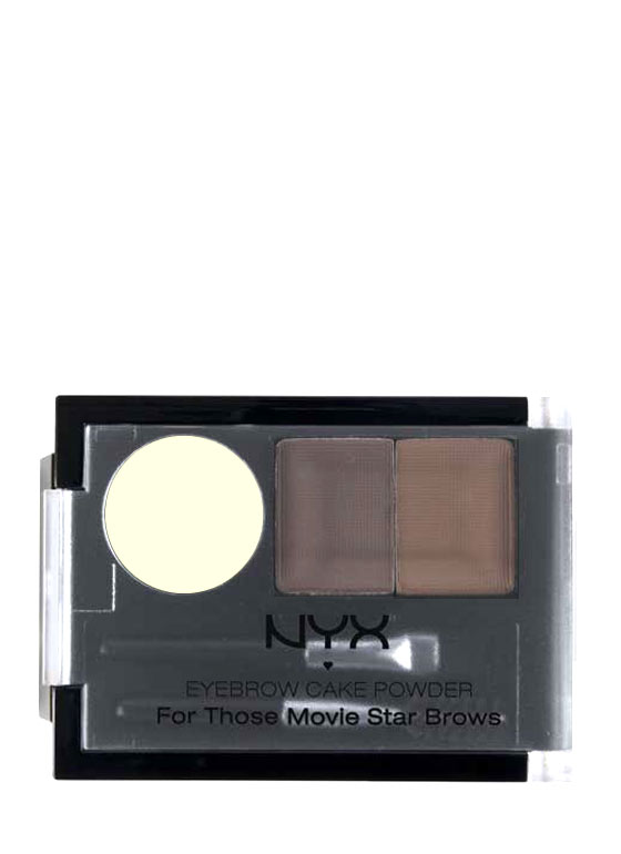 NYX Eyebrow Cake Powder DARKBROWN
