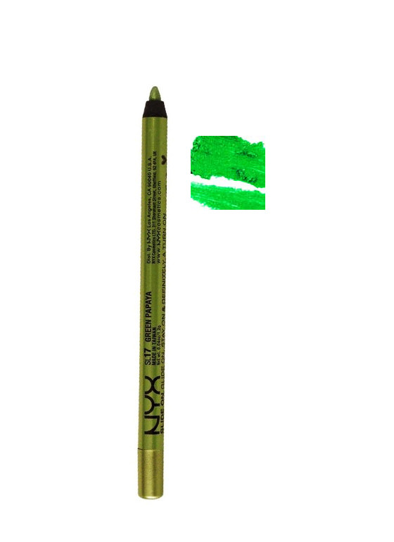 NYX Slide On Pencil GREENPAPAYA