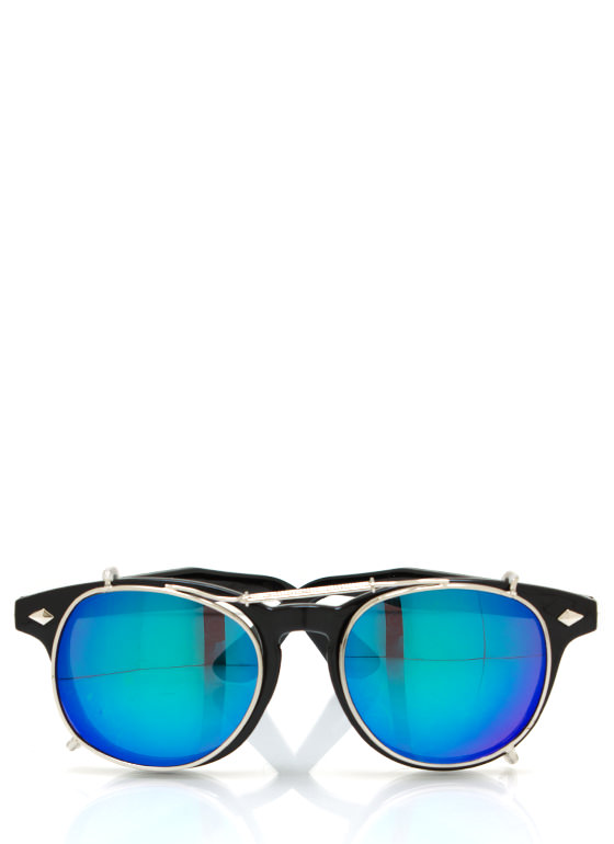 Tops Off Sunglasses BLACKBLUE
