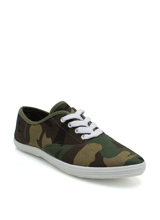 Now You See Me Camo Sneakers CAMOUFLAGE