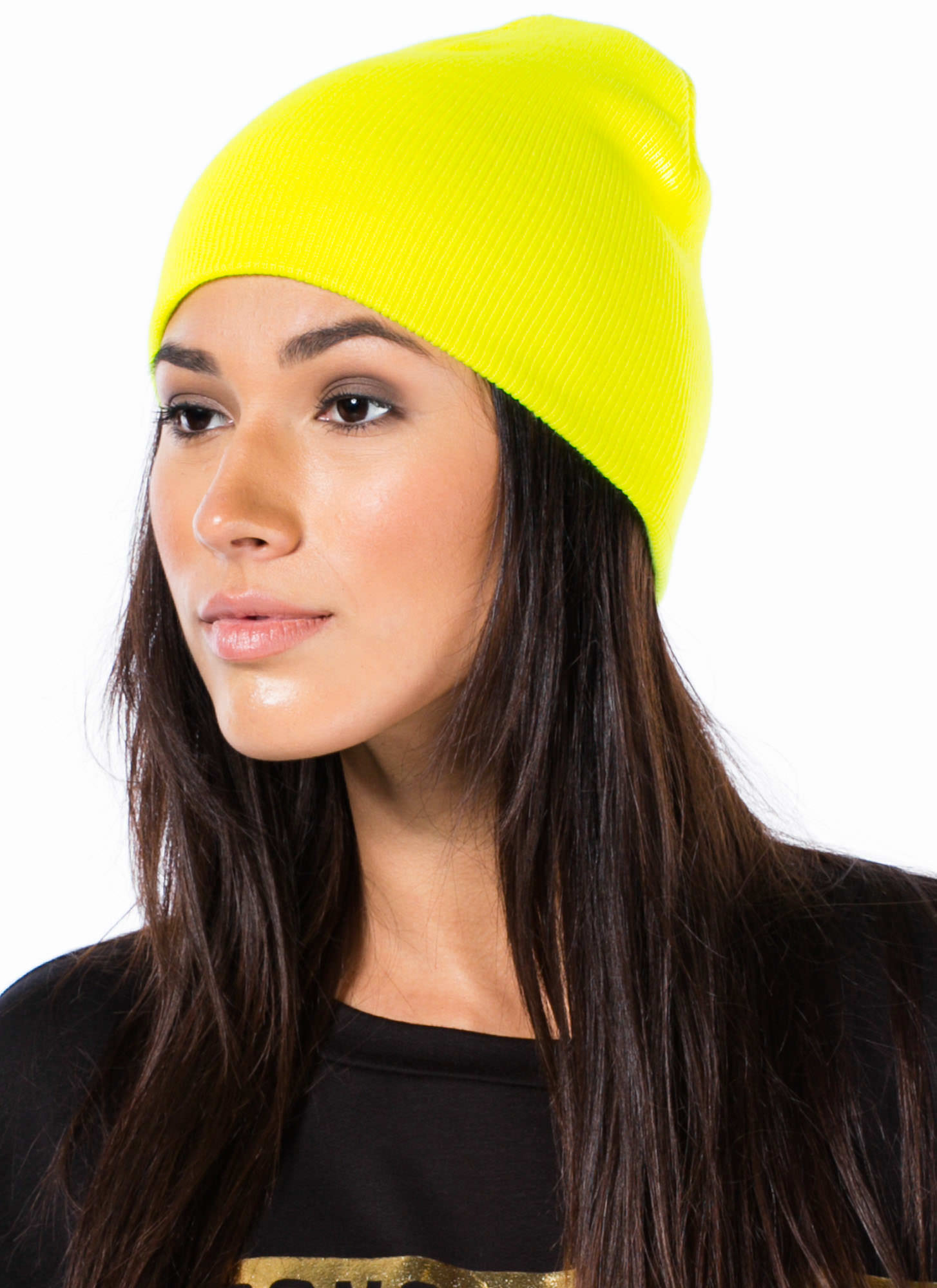 Neon Of Your Business Sweater Beanie NEONYELLOW