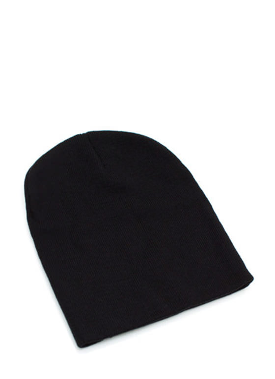 Essential Sweater Beanie BLACK