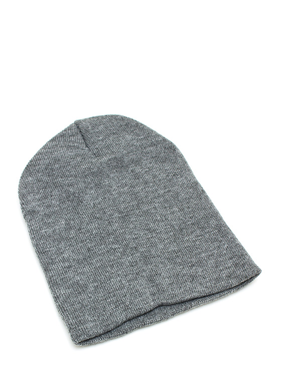 Essential Sweater Beanie GREY
