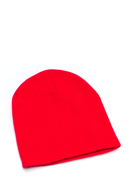 Essential Sweater Beanie RED