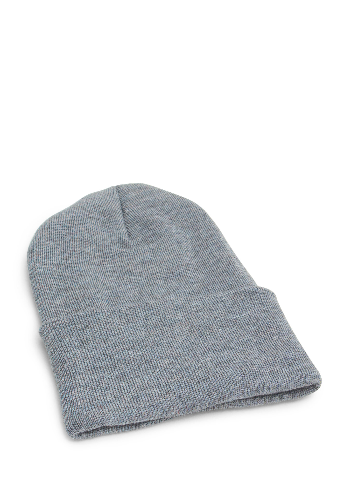 Super Long Sweater Beanie GREY