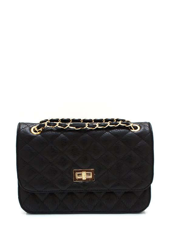 Feeling Quilty Purse BLACKGOLD