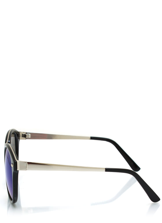 Seeing Colors Reflective Sunglasses BLACKBLUE