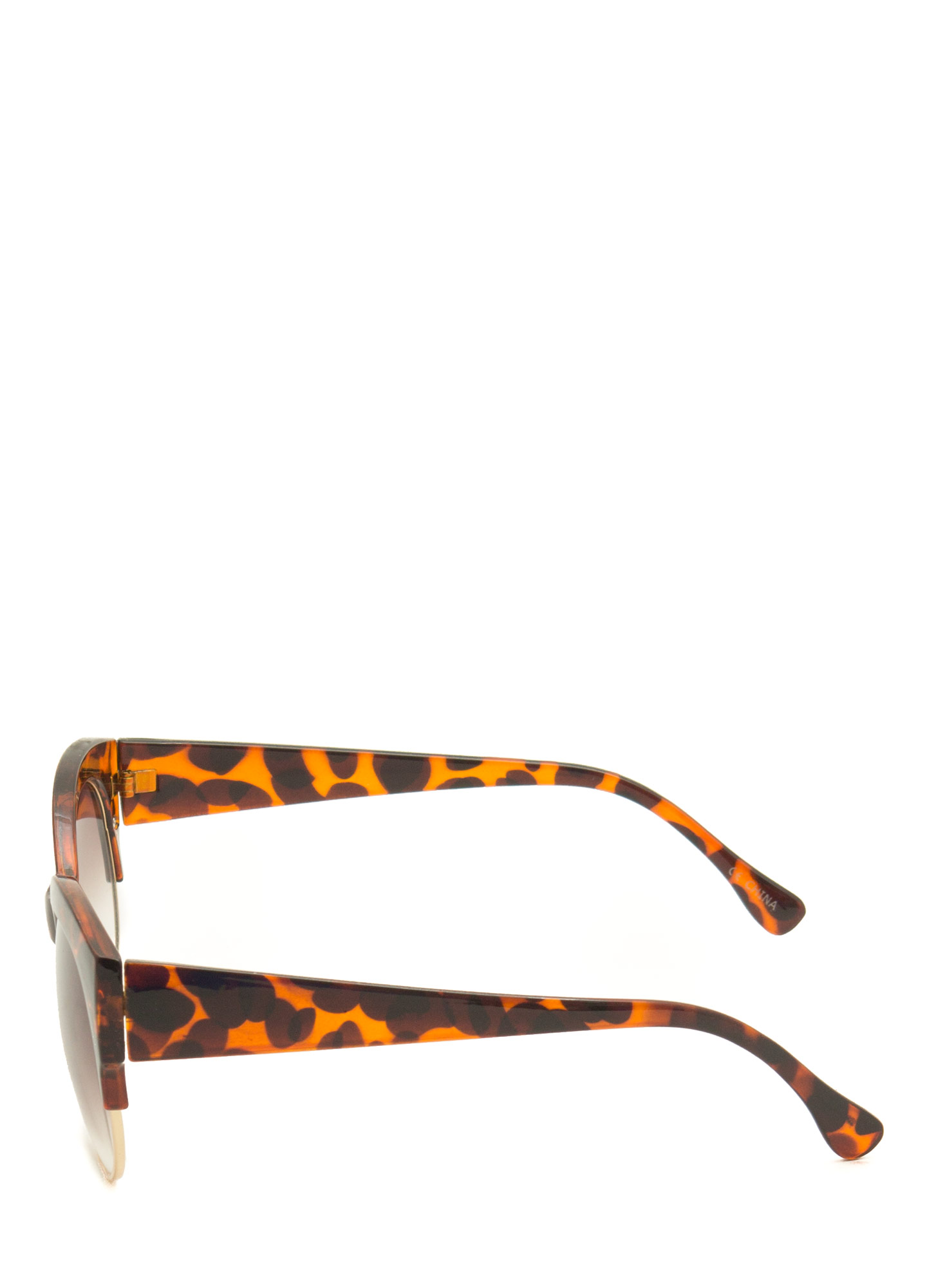 Cool Cat Cat Eye Sunglasses DKTORTOISE