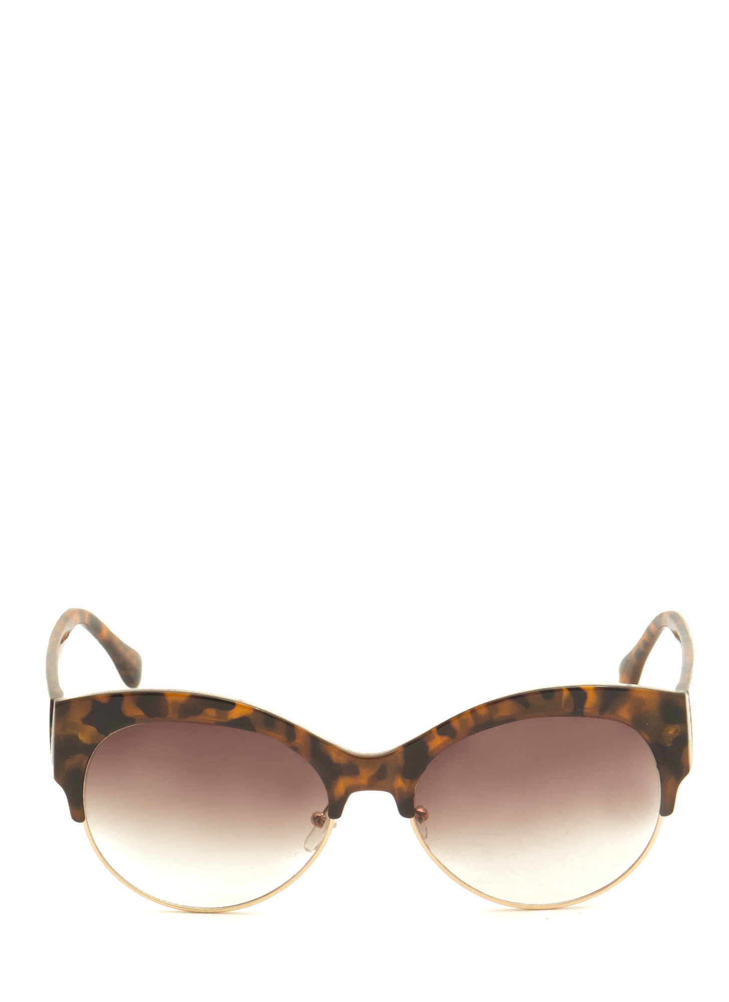 Cool Cat Cat Eye Sunglasses LTTORTOISE
