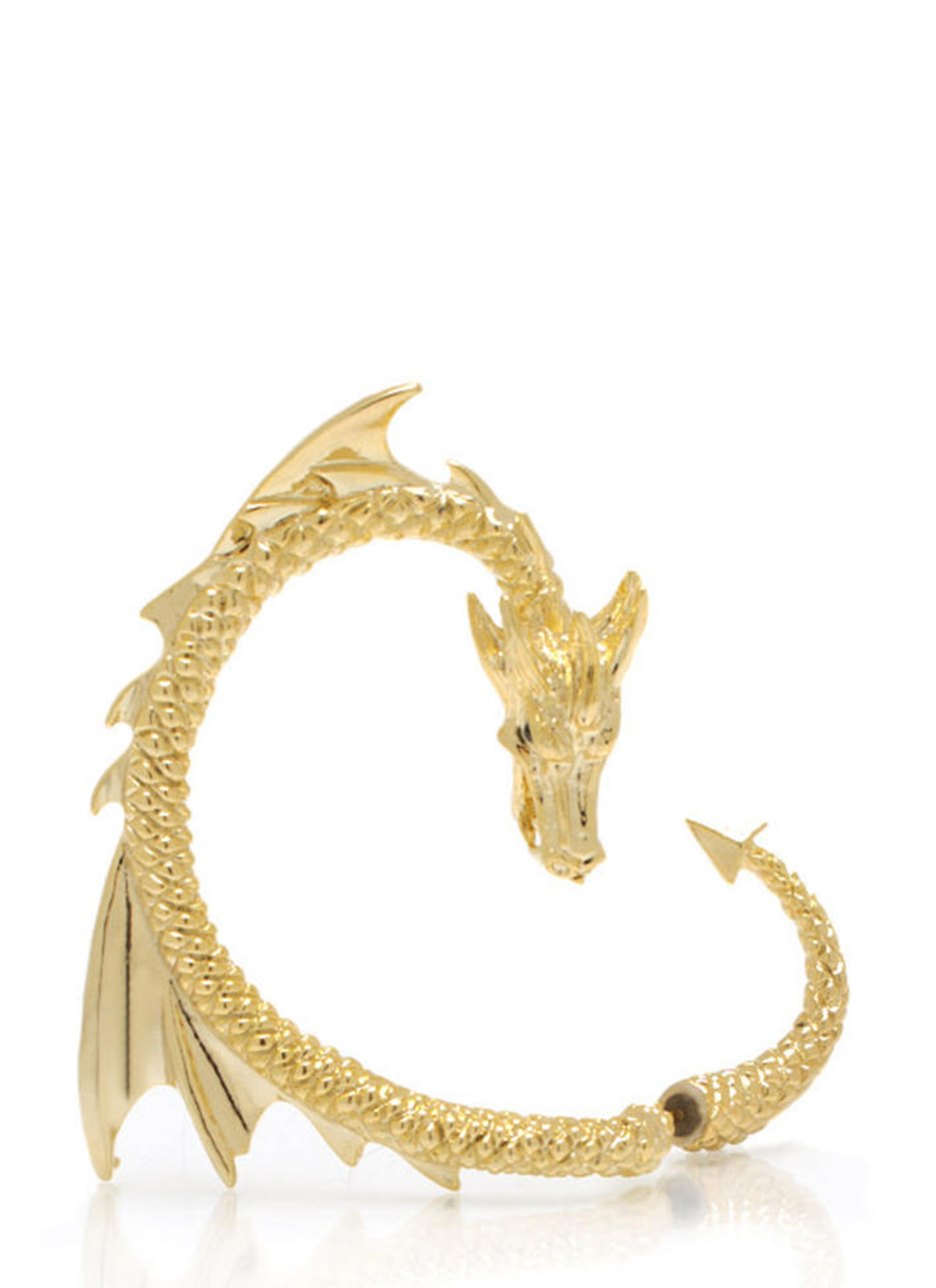 Dragon Warrior Cuff Earring GOLD
