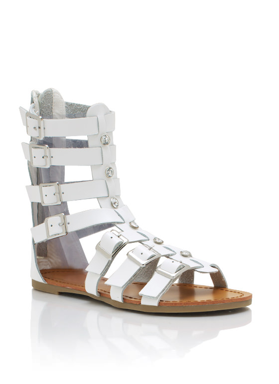 In The Arena Sandals WHITE