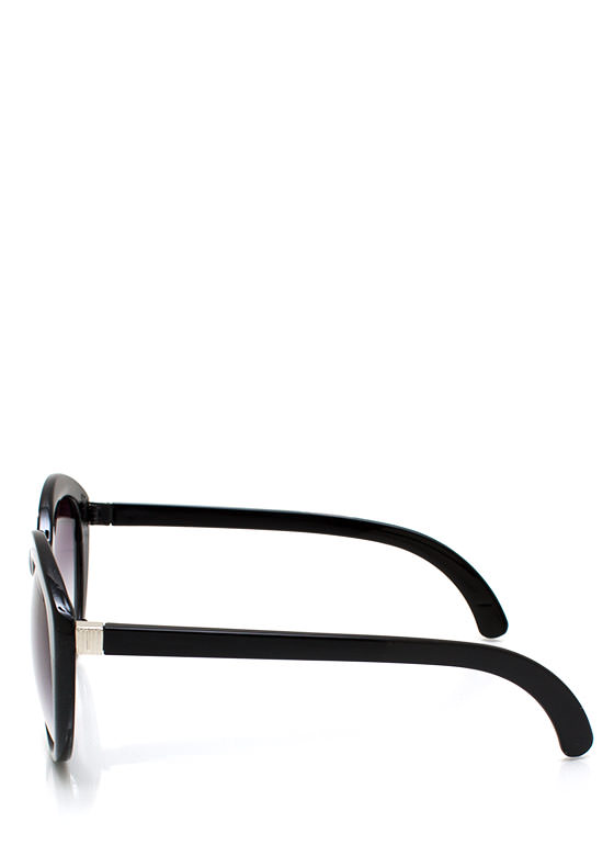 New Stuff: Top Heavy Flare Frame Sunglasses BLACKPURP