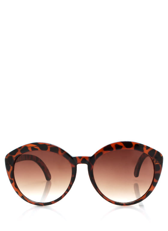 New Stuff: Top Heavy Flare Frame Sunglasses DKTORTOISE