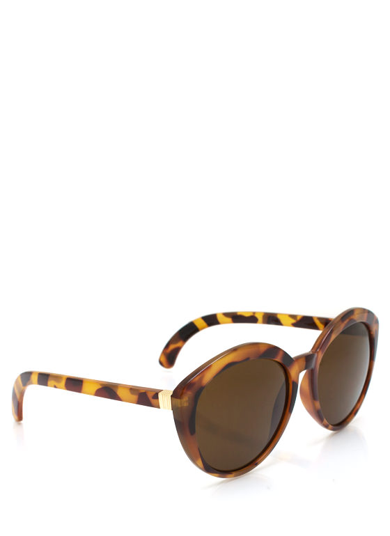 New Stuff: Top Heavy Flare Frame Sunglasses LTTORTOISE