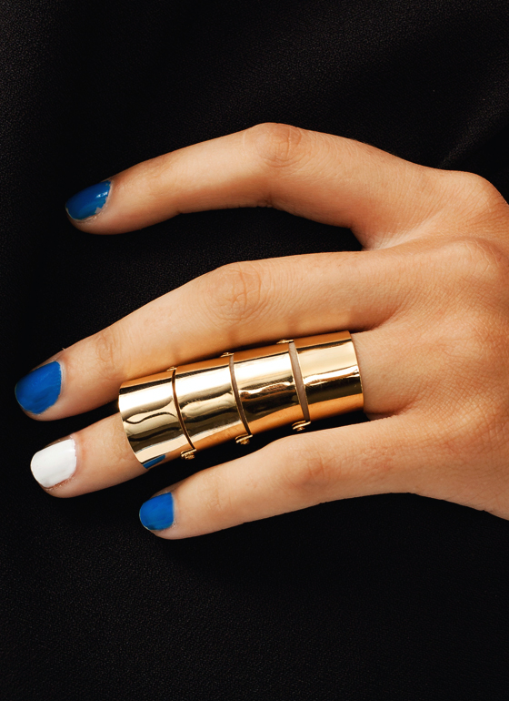 Finger Armor Ring GOLD