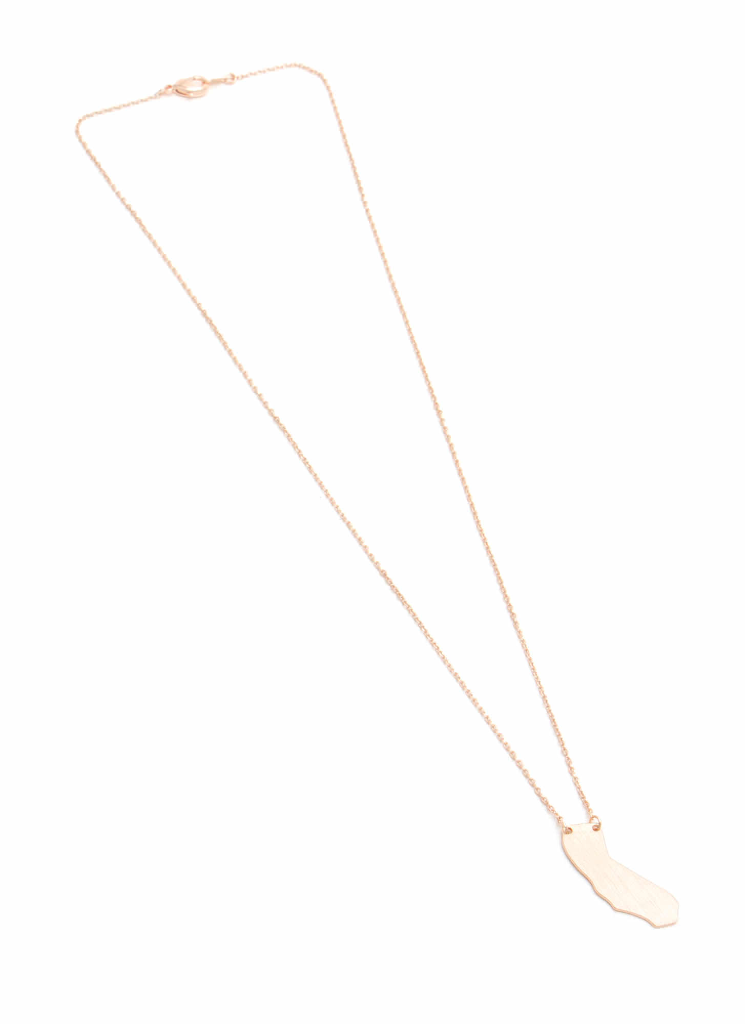 The Golden State Necklace ROSEGOLD