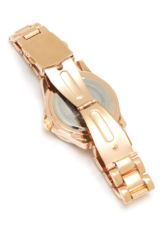 Mining Diamonds Watch ROSEGOLD
