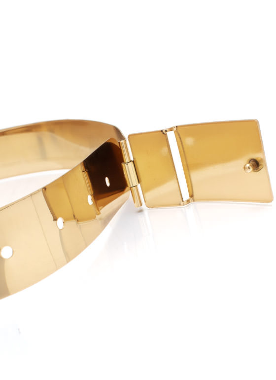All About Metal Belt GOLD