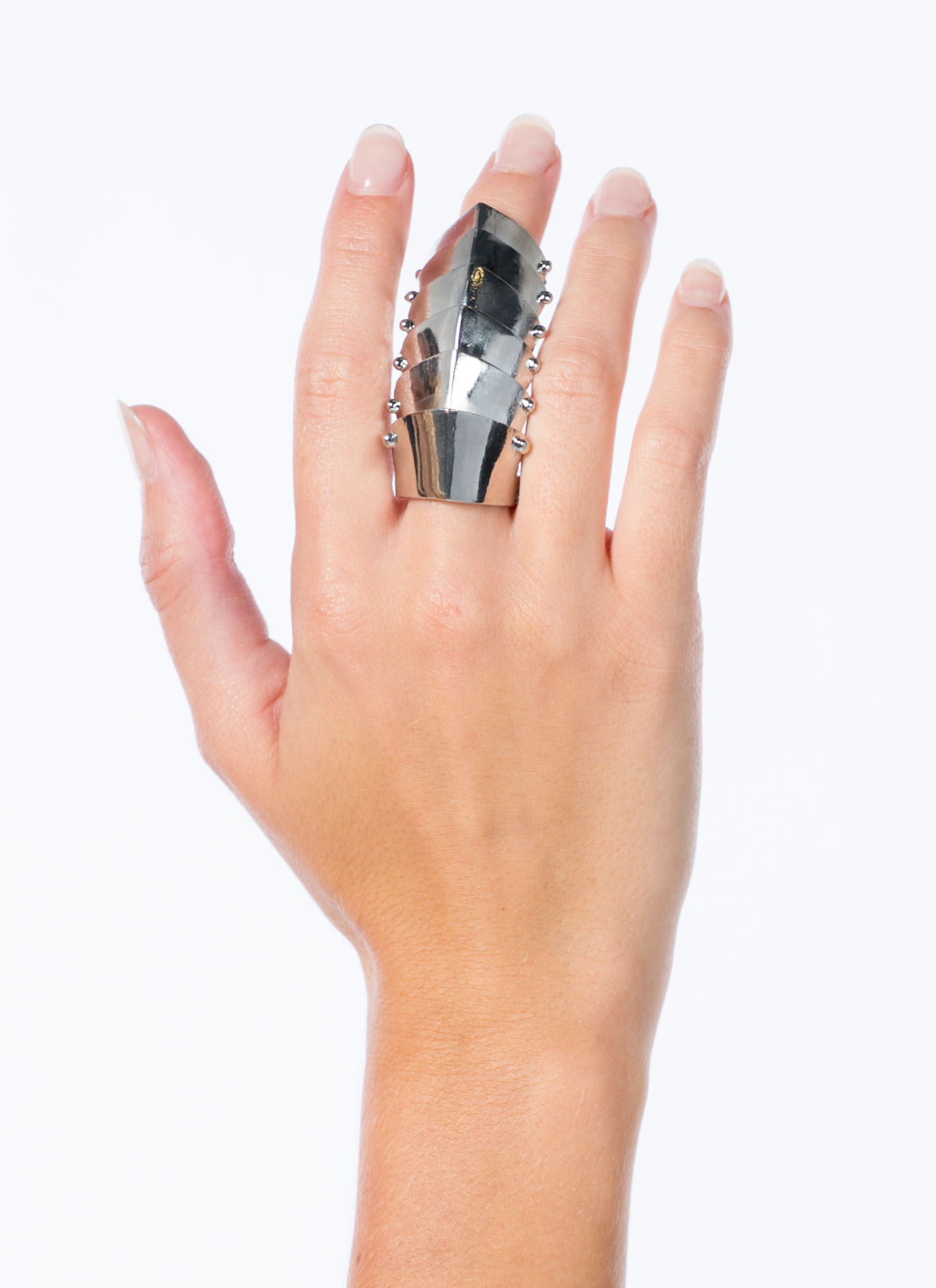 Be My Shield Armor Ring SILVER