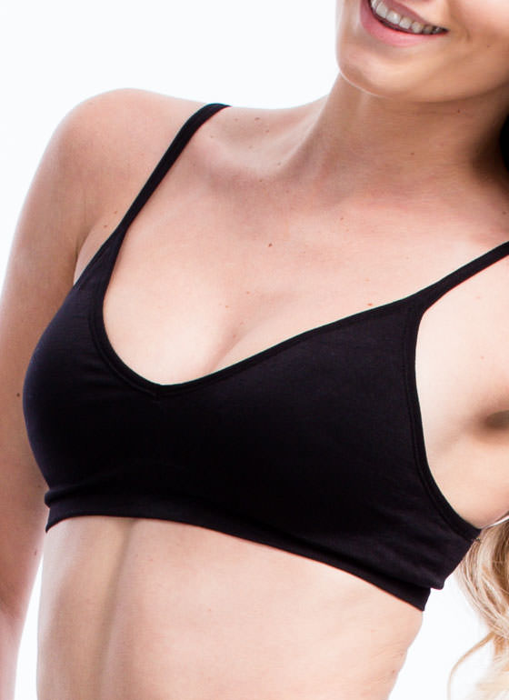 Be A Good Sport Seamless Bra BLACK