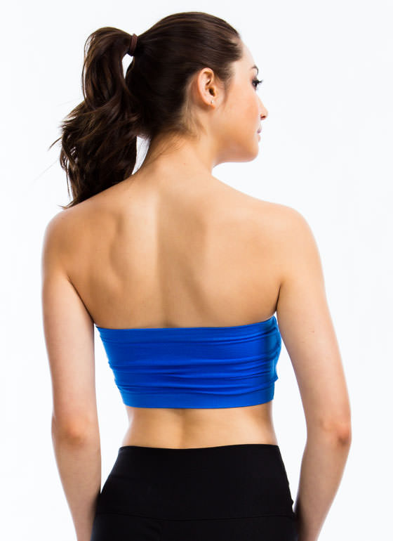 Ruched Bandeau ROYAL