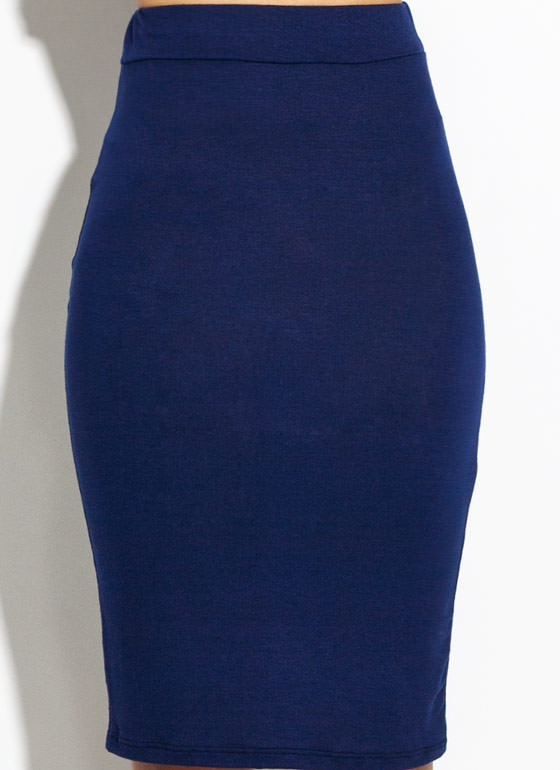 Anywhere Anytime Pencil Skirt NAVY
