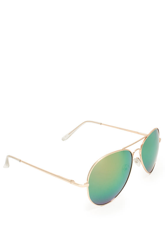 Color Trip Sunglasses COPPERGOLD
