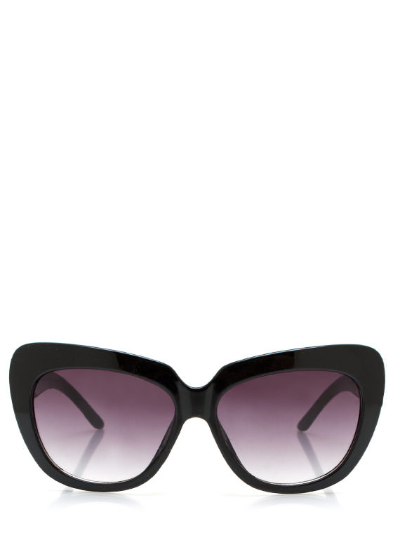 Cat Lady Sunglasses BLACKCHAR