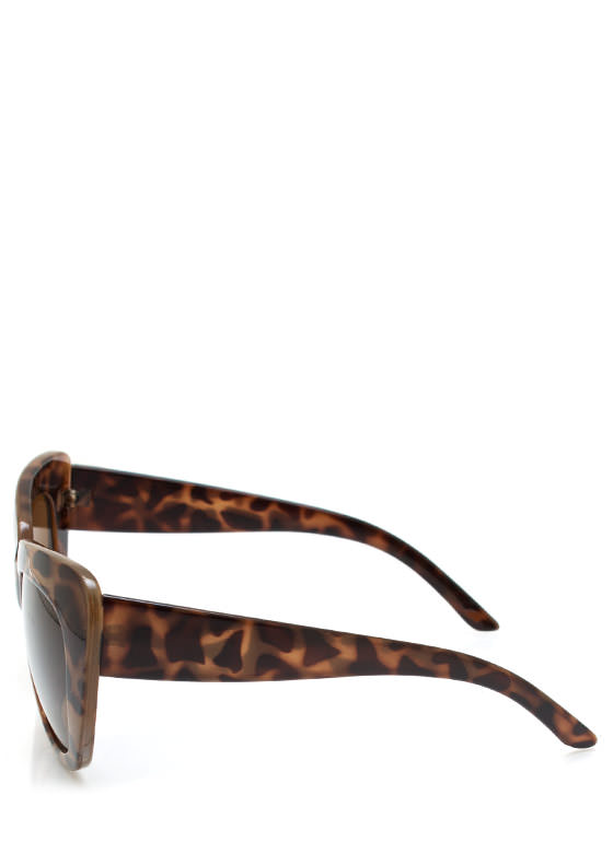 Cat Lady Sunglasses TORTBROWN