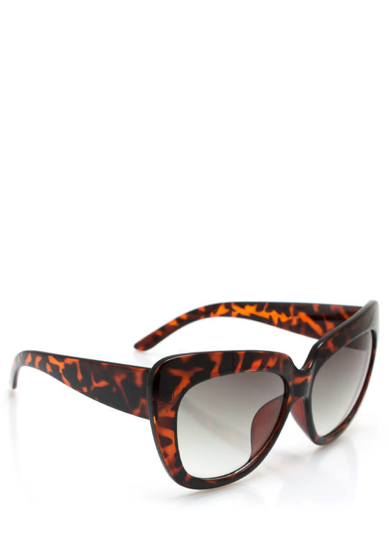 Cat Lady Sunglasses TORTGREEN