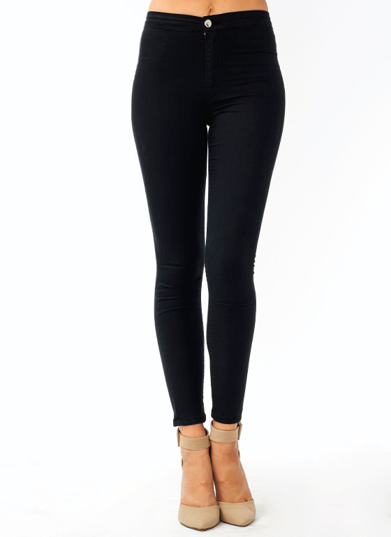 So Much Stretch Skinny Jeans BLACK