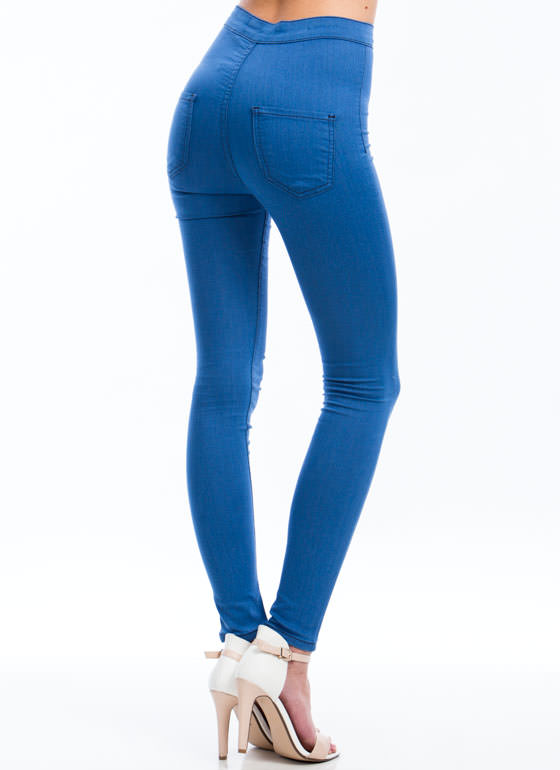 So Much Stretch Skinny Jeans BLUE