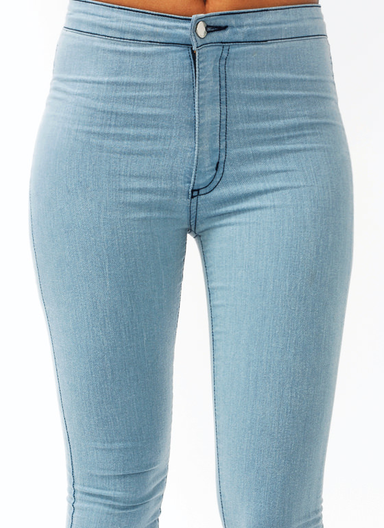 So Much Stretch Skinny Jeans LTBLUE