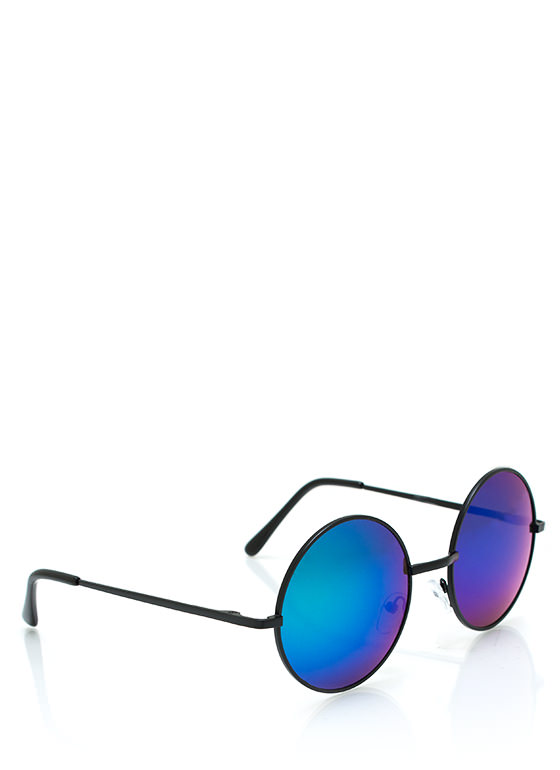 Soap Bubbles Sunglasses BLUEBLACK