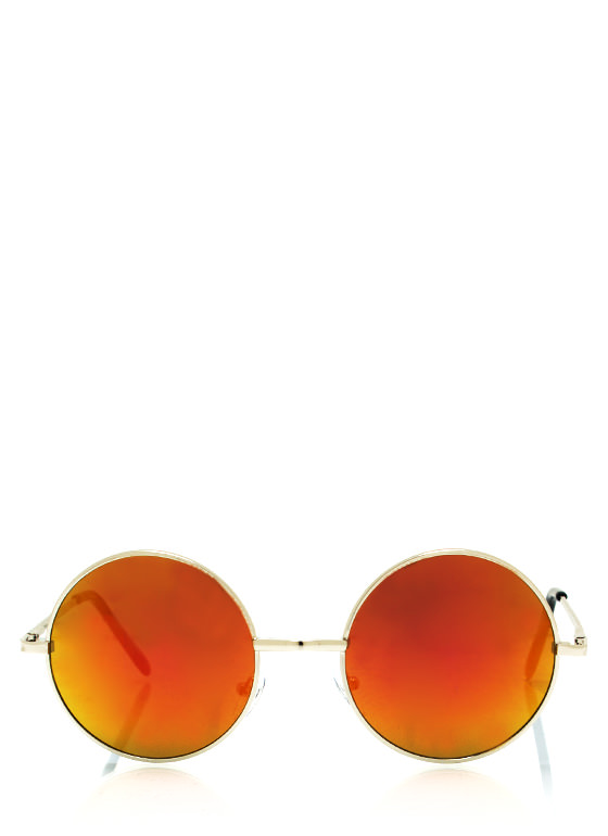 Soap Bubbles Sunglasses ORANGESLVR