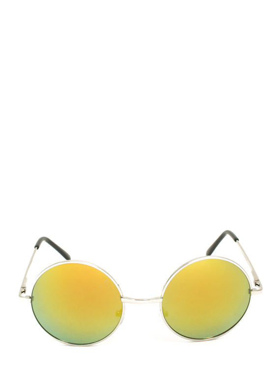 Soap Bubbles Sunglasses YELLOWSLVR