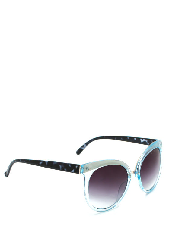 Wired In Cat Eye Sunglasses SKY