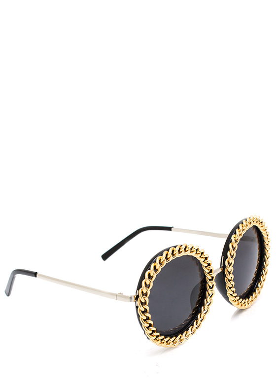 In Chains Sunglasses BLACKGOLD