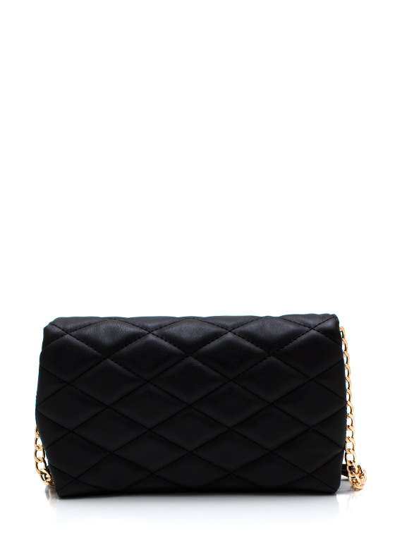 Proven Quilty Pyramid Stud Clutch BLACKGOLD