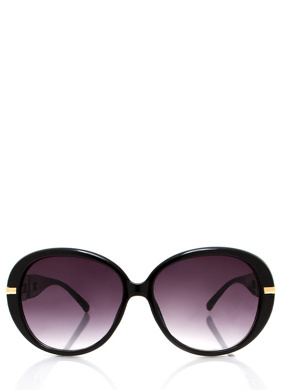 No Chainy Days Sunglasses BLACKGOLD