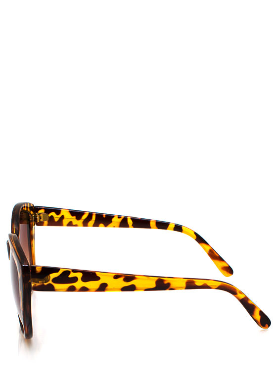 Naughty Kitty Sunglasses TORTBROWN