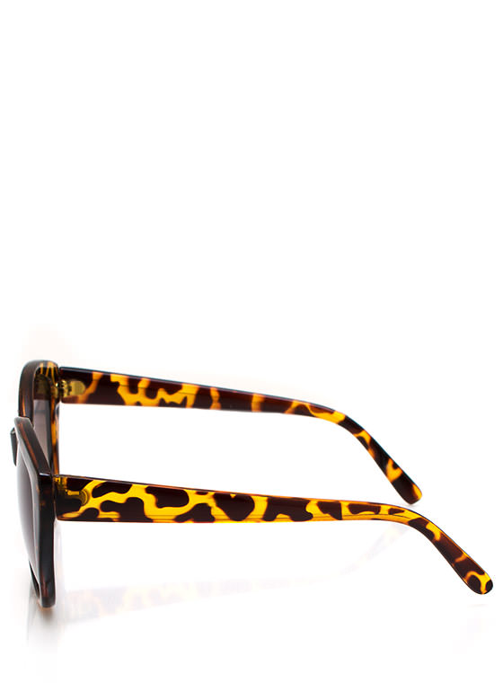 Naughty Kitty Sunglasses TORTOLIVE