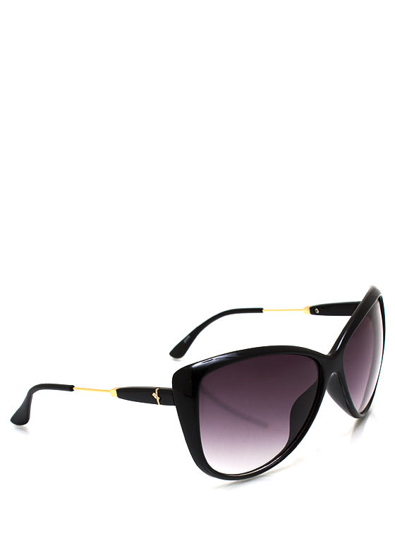 Bow Tiful Accent Sunglasses BLACKGOLD