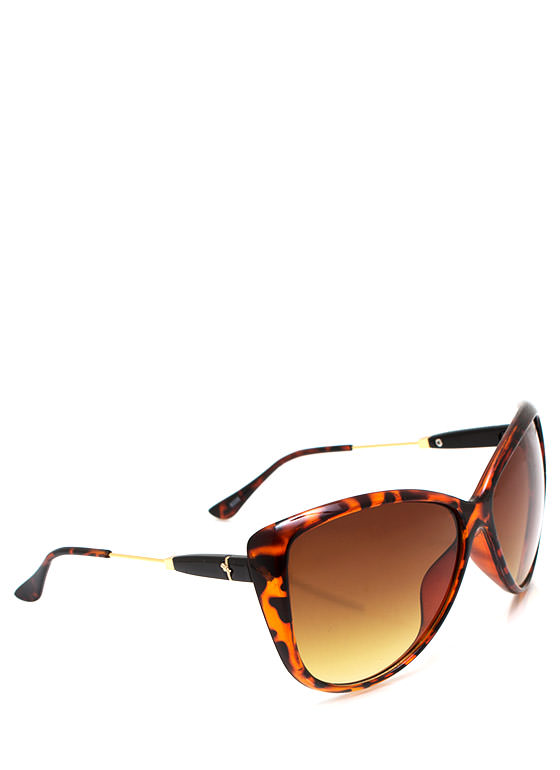 Bow Tiful Accent Sunglasses TORTGOLD