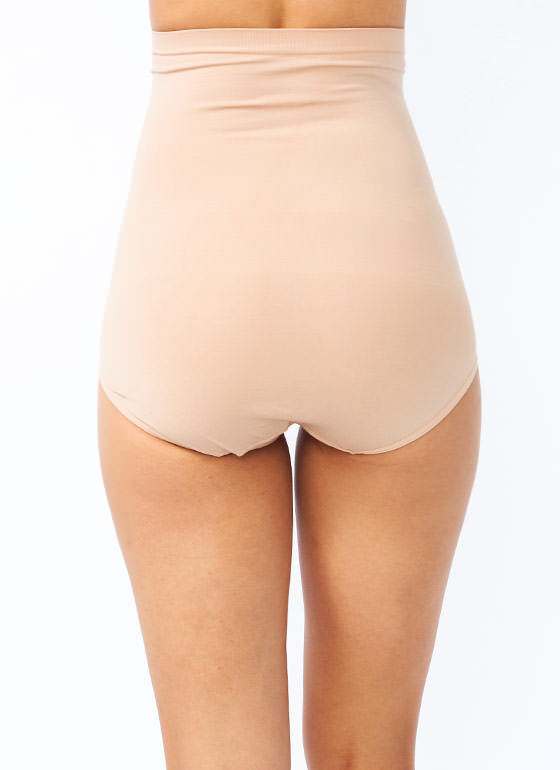 High Waisted Tummy Control Panty BEIGE