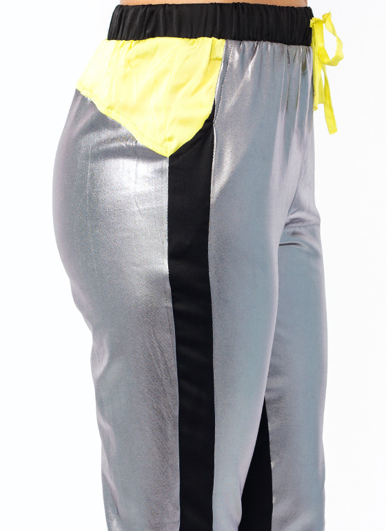 Traffic Stopping Joggers PEWTERLIME