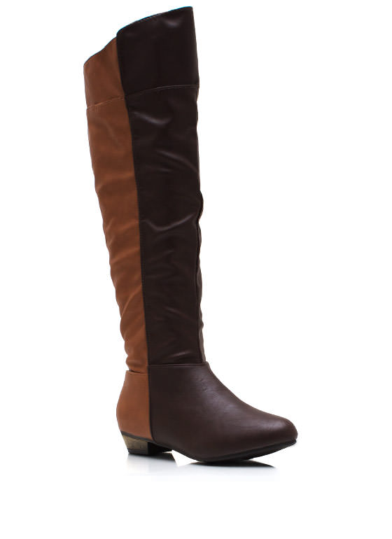 2 Good 2B True Riding Boots BROWNCHSTNT